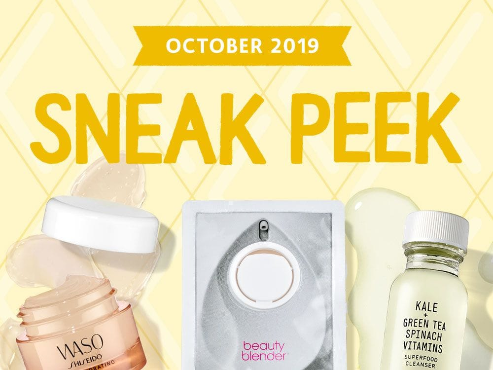 Play by Sephora October 2019 Spoilers