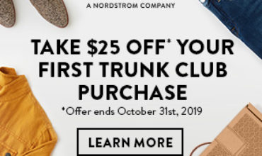 Trunk Club Coupon – Get $25 Off Your First Box!