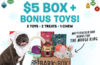 BarkBox Black Friday Deal – First Box $5 + FREE Bonus Toy!