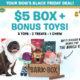 BarkBox Black Friday Deal – First Box $5 + FREE Bonus Toy!