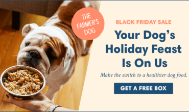 The Farmer's Dog Black Friday Deal – Get Your First Box FREE!