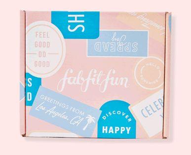 FabFitFun Mini Box