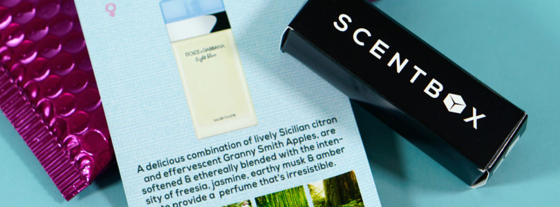 ScentBox Review + Coupon – October 2019