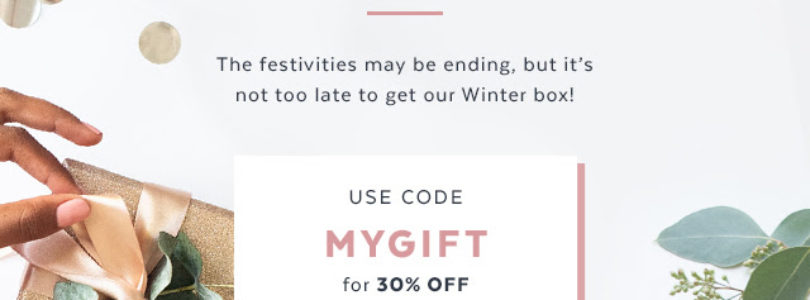 Popsugar Must Have Box Coupon – Get 30% Off Winter Box!