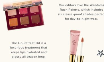 Popsugar Must Have Box Cyber Monday Deal – $20 Off + FREE Wander Beauty Bundle!