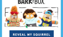BarkBox Coupon – Get a FREE Toy Squirrel with Subscription!
