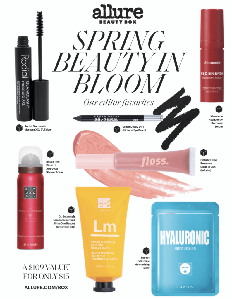 Allure Beauty Box March 2020 Spoilers