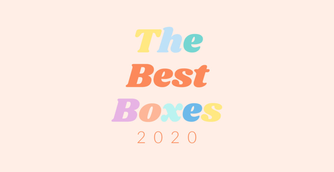 The Best Subscription Boxes of 2020