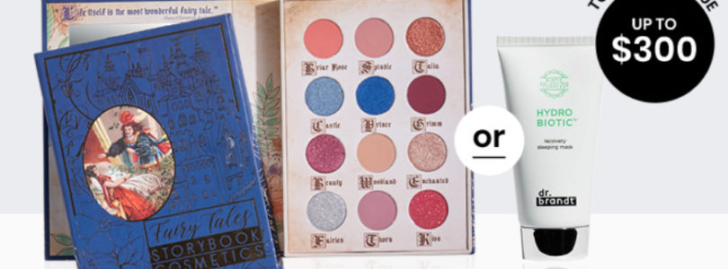 BoxyCharm Coupon – FREE StoryBook Cosmetics Palette OR Dr. Brandt Sleeping Mask!