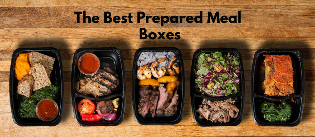 The Best Prepared Meal Boxes