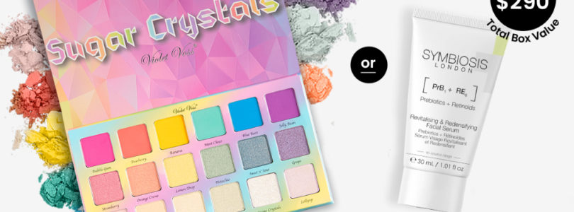 BoxyCharm Coupon – FREE Violet Voss Palette OR Symbiosis London Face Serum!