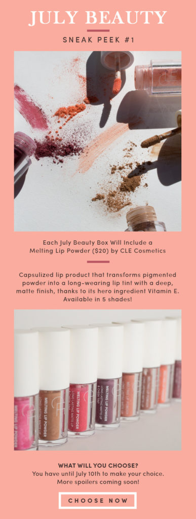 The Beauty Box by Bombay & Cedar July 2020 Spoilers