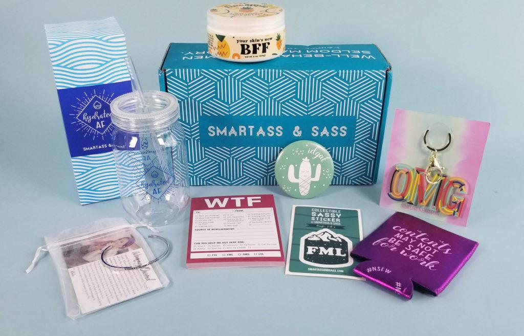Smartass & Sass June 2020 Box